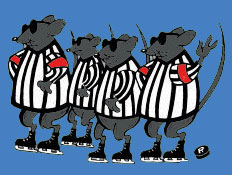 Image result for 3 blind mice hockey